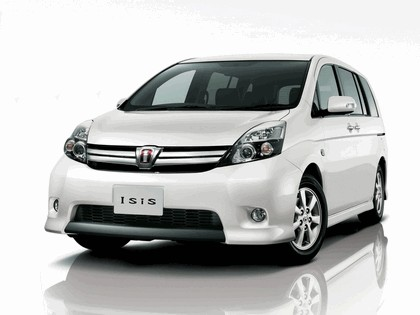 2011 Toyota Isis Platana V Selection white interior package 1