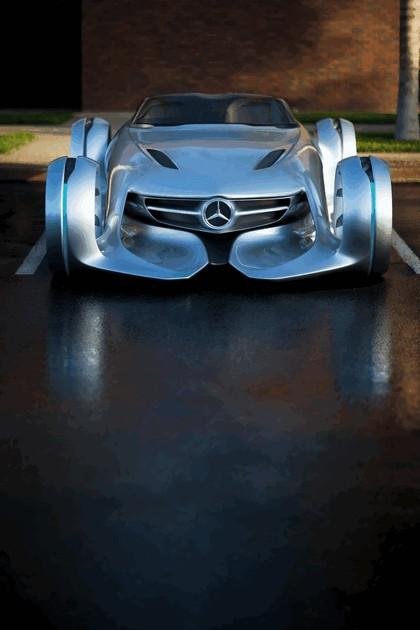 2011 Mercedes-Benz Silver Arrow concept 5