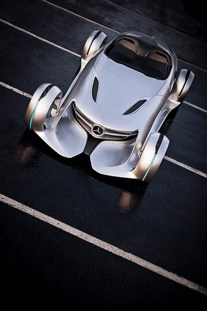 2011 Mercedes-Benz Silver Arrow concept 6