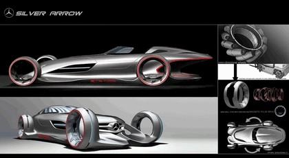2011 Mercedes-Benz Silver Arrow concept 9
