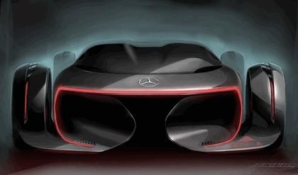 2011 Mercedes-Benz Silver Arrow concept 12