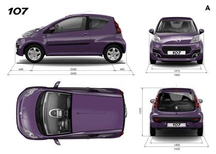 2012 Peugeot 107 3-door 10