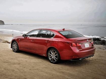 2012 Lexus GS 450h F-Sport - USA version 9