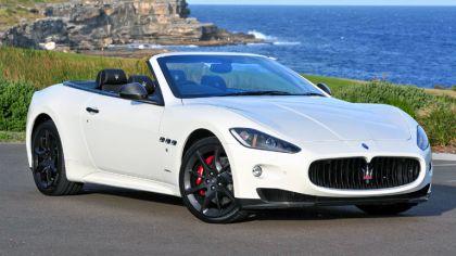 2011 Maserati GranCabrio Sport - Australian version 5