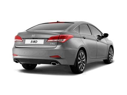 2012 Hyundai i40 - UK version 2