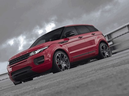 2012 Land Rover Range Rover Evoque Red by Project Kahn 1