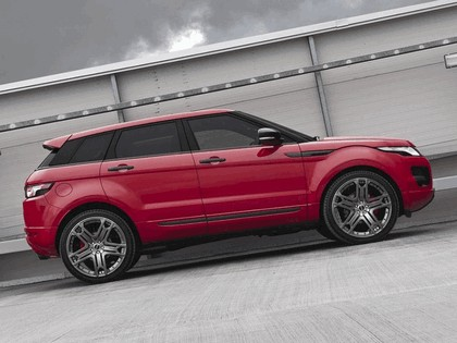 2012 Land Rover Range Rover Evoque Red by Project Kahn 2