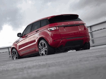 2012 Land Rover Range Rover Evoque Red by Project Kahn 3