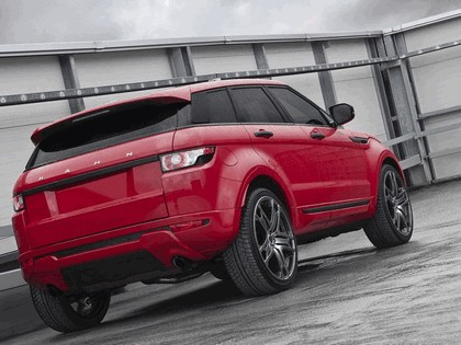 2012 Land Rover Range Rover Evoque Red by Project Kahn 4