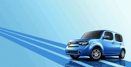 2012 Nissan Cube Indigo Blue Edition 1