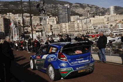 2012 Ford Fiesta WRC - rally of Monaco 6