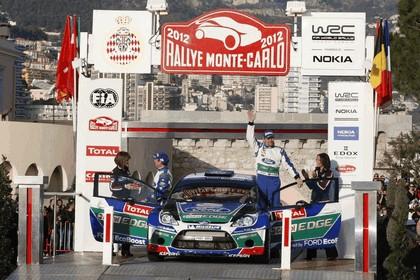 2012 Ford Fiesta WRC - rally of Monaco 11
