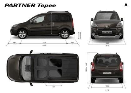 2012 Peugeot Partner Tepee 8