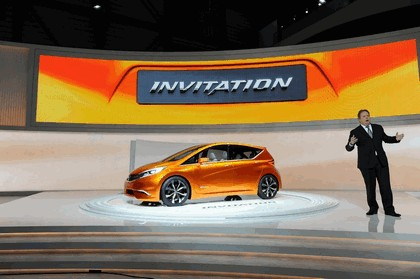 2012 Nissan Invitation concept 40