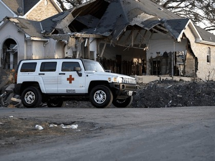 2006 Hummer H3 American Red Cross 1