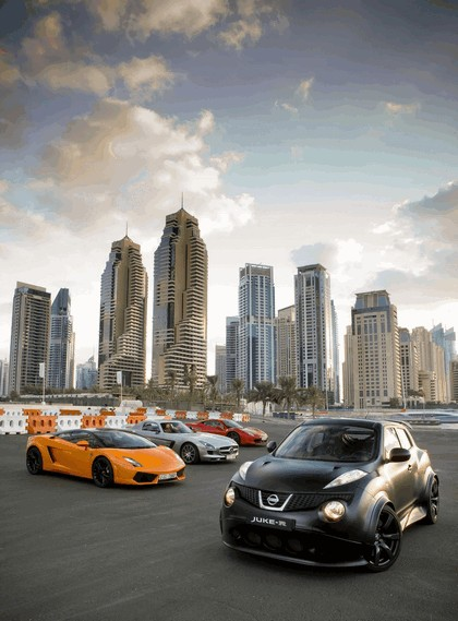2012 Nissan Juke-R concept - Dubai 2