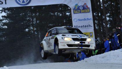 2012 Skoda Fabia S2000 - rally of Sweden 2