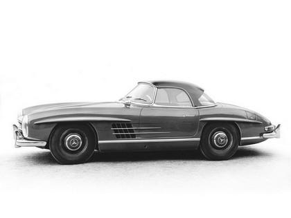 1957 Mercedes-Benz 300 SL ( R198 ) convertible 1