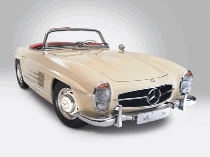 1957 Mercedes-Benz 300 SL ( R198 ) convertible 5