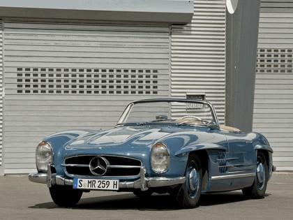 1957 Mercedes-Benz 300 SL ( R198 ) convertible 8