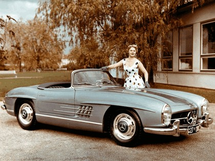 1957 Mercedes-Benz 300 SL ( R198 ) convertible 22