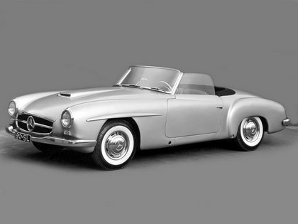 1954 Mercedes-Benz 190 SL ( W121 ) prototype 1