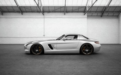 2012 Mercedes-Benz SLS 63 AMG ( C197 ) Silver Wing by Wheelsandmore 2