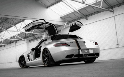 2012 Mercedes-Benz SLS 63 AMG ( C197 ) Silver Wing by Wheelsandmore 5