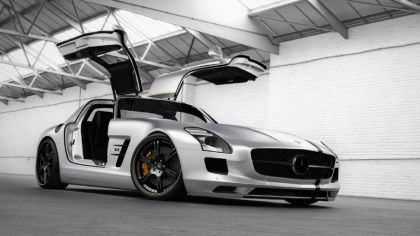 2012 Mercedes-Benz SLS 63 AMG ( C197 ) Silver Wing by Wheelsandmore 9