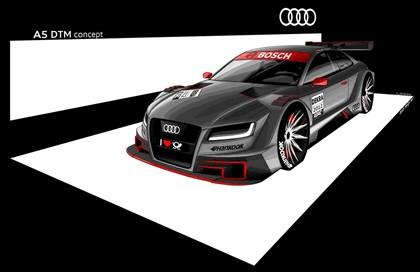 2012 Audi A5 DTM concept 1