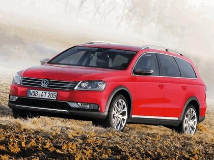 2012 Volkswagen Passat Alltrack 10