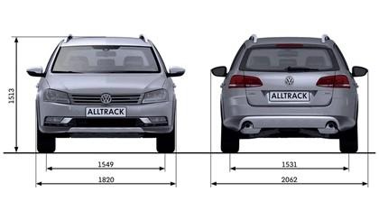 2012 Volkswagen Passat Alltrack 57