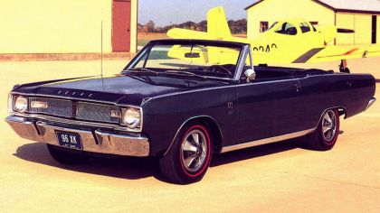 1967 Dodge Dart GTS convertible 4