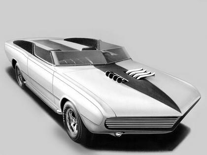 1967 Dodge Dart GT convertible Daroo I concept 1