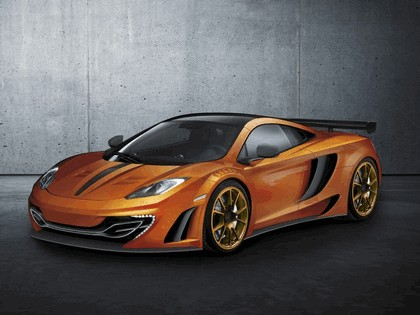 2012 McLaren MP4-12C by Mansory - sketches 1