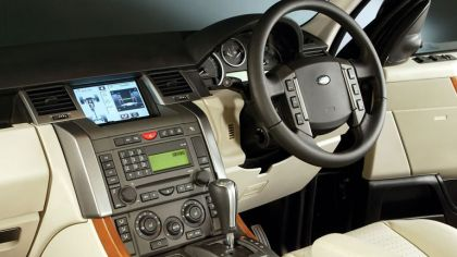 2006 Land Rover Range Rover Sport UK version 2