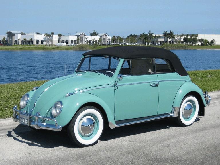 1962 Volkswagen Beetle Type1 convertible 338950