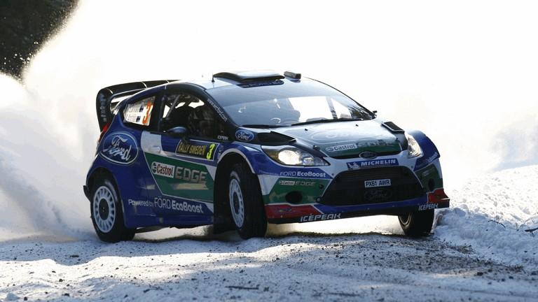 2012 Ford Fiesta WRC - rally of Sweden 341979
