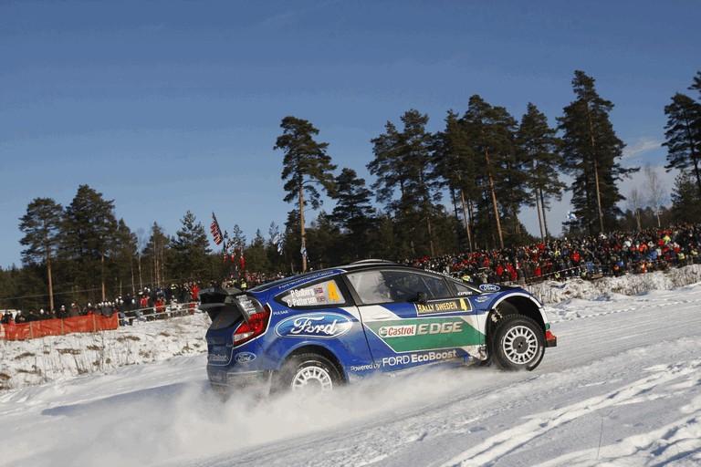 2012 Ford Fiesta WRC - rally of Sweden 341982