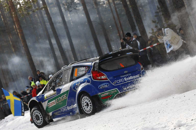2012 Ford Fiesta WRC - rally of Sweden 341983