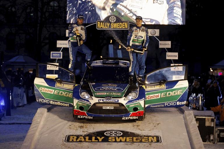 2012 Ford Fiesta WRC - rally of Sweden 341985