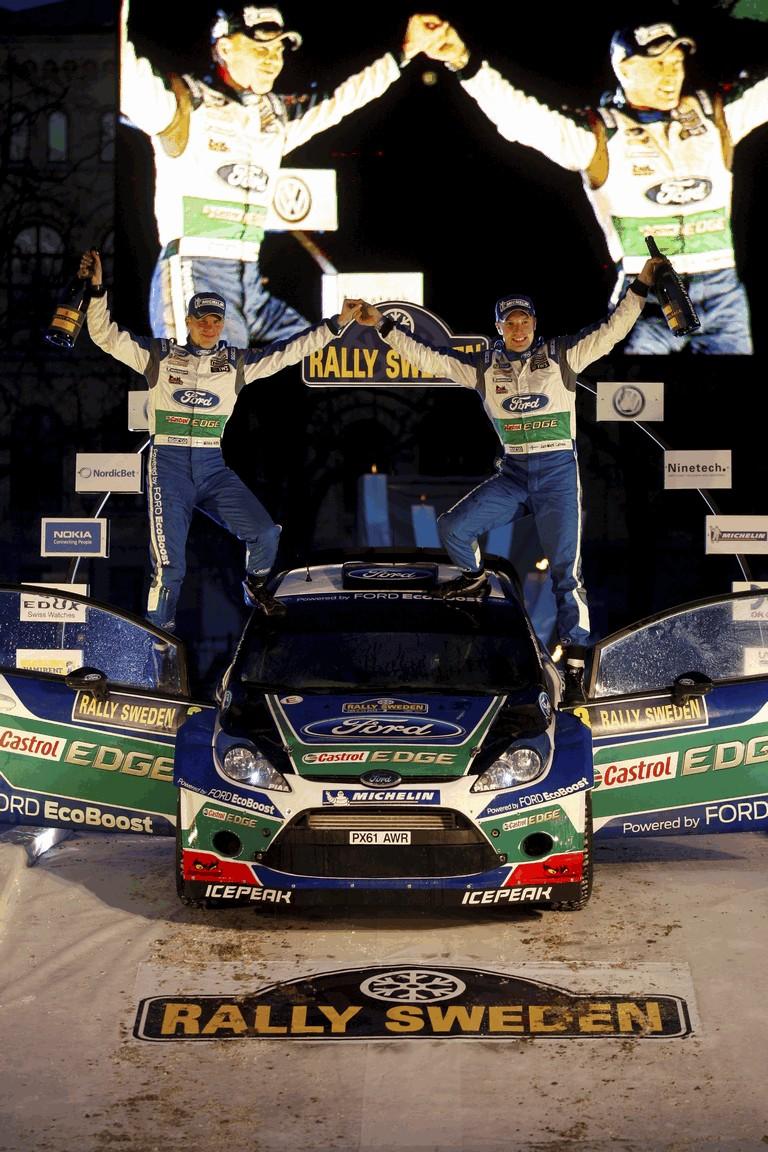 2012 Ford Fiesta WRC - rally of Sweden 341986