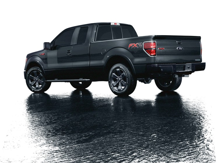 2012 Ford F-150 FX appearance package 342011