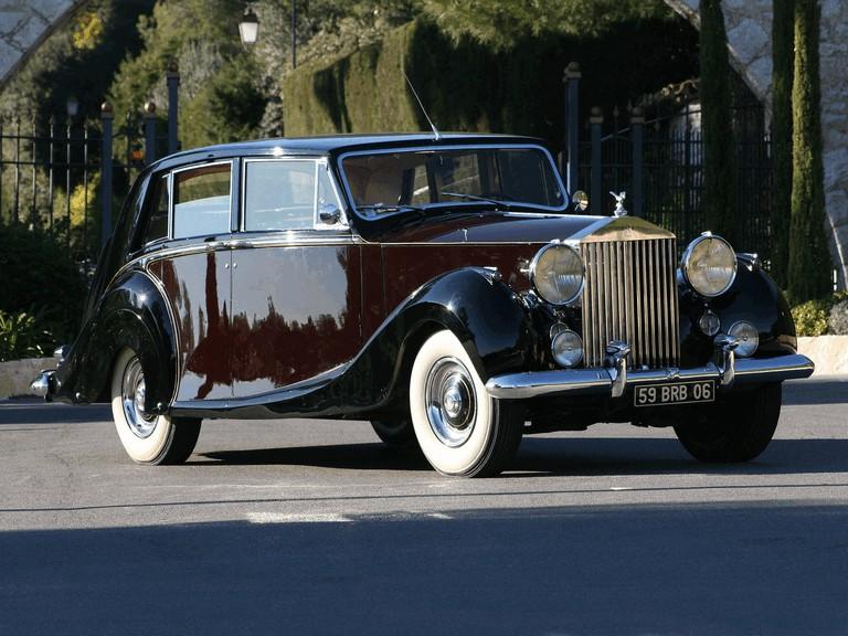1953 Rolls-Royce Silver Wraith Limousine by Hooper 343234