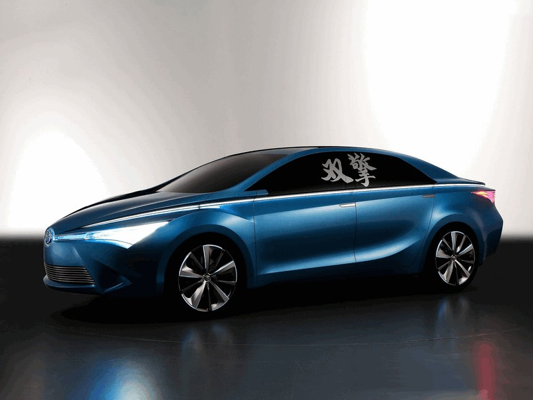 2012 Toyota Yundong Shuangqing concept 343782