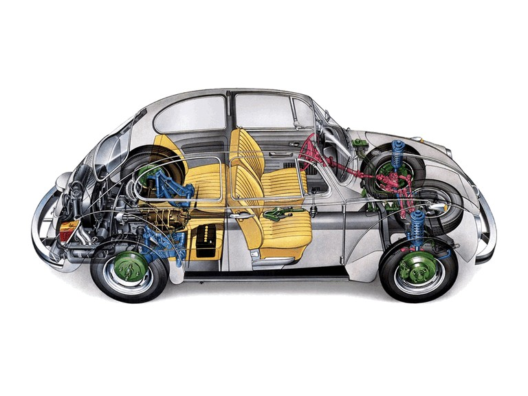 1972 Volkswagen Beetle 346062