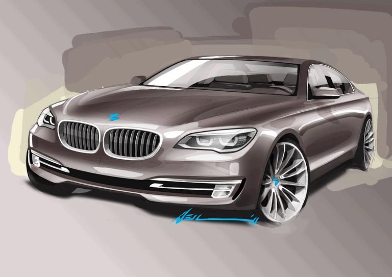 2012 BMW 750d ( F01 ) 346880