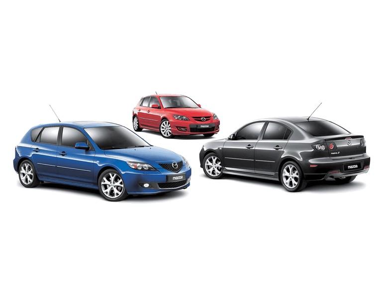 2006 Mazda 3 sedan european version 213531