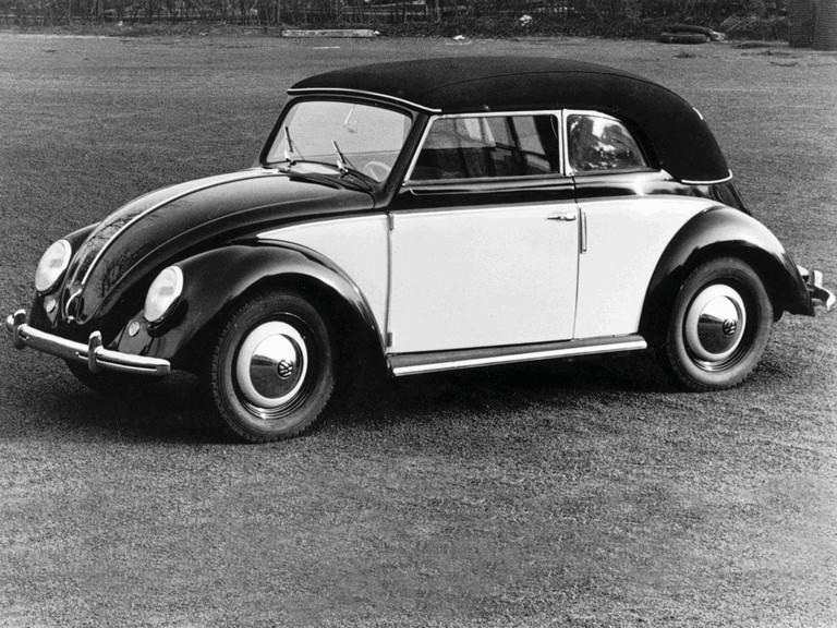 1949 Volkswagen Beetle cabriolet by Karmann 347908
