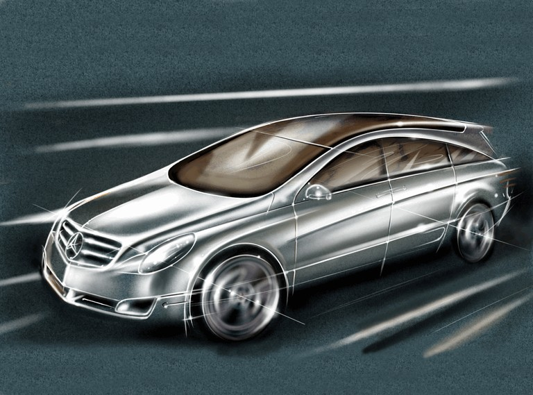 2004 Mercedes-Benz Grand Sports Tourer Vision R concept 348100